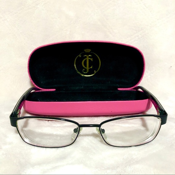 Juicy Couture Accessories - Juicy Couture Rx Glasses With Case